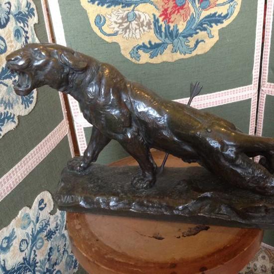 bronze de Valton fondeur SIOP-DECAUVILLE -PARIS